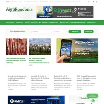 Agrorondonia.com.br thumbnail