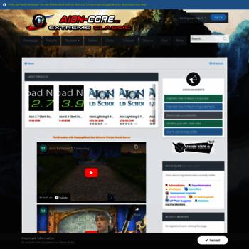 Aion-core.net thumbnail