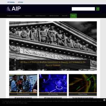 Aip.org thumbnail