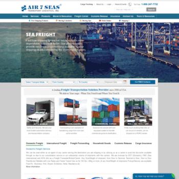 air7seas com at WI  AIR 7 SEAS - Logistics, Freight