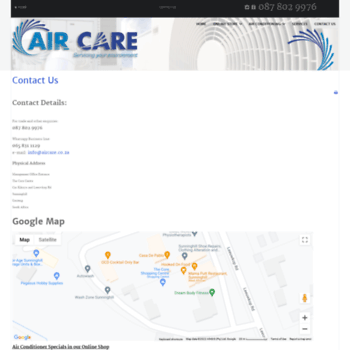 Aircare.co.za thumbnail