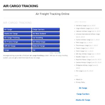 Aircargotracking.co thumbnail