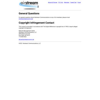 Airstreamcomm.net thumbnail
