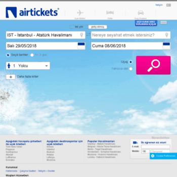 Airtickets.com.tr thumbnail