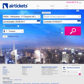 Airtickets.pl thumbnail