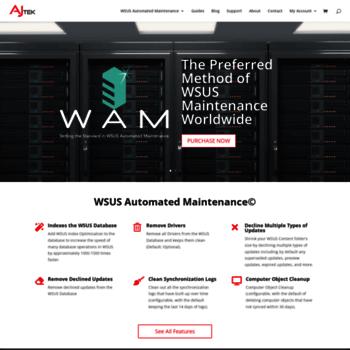 ajtek ca at WI  Home Page - WSUS Automated Maintenance | AJ Tek