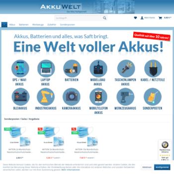 Akkuwelt.eu thumbnail