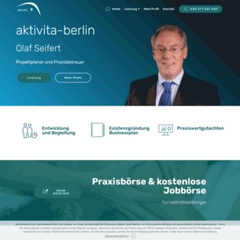 Aktivita-berlin.de thumbnail