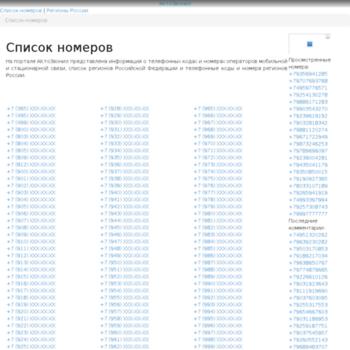 Веб сайт aktozvonil.ru