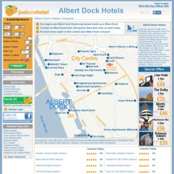 Albertdockhotels.co.uk thumbnail
