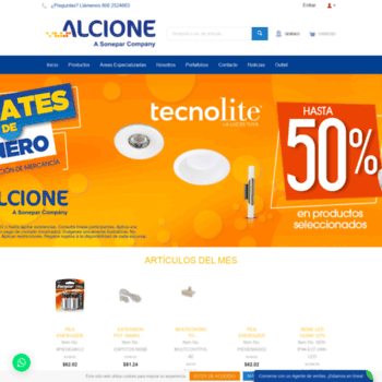 Alcione.mx thumbnail