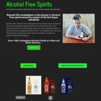 Alcoholfreespirits.co.uk thumbnail