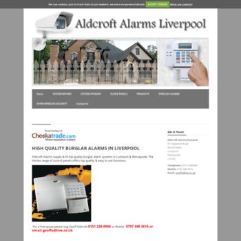 Aldcroftalarms.co.uk thumbnail