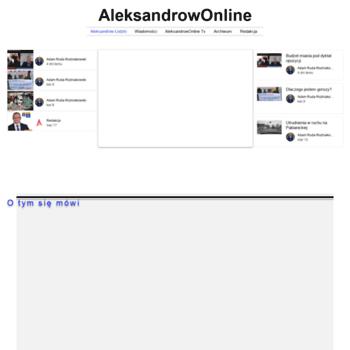 Aleksandrowonline.pl thumbnail