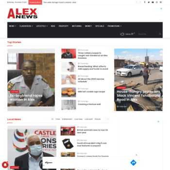 Alexnews.co.za thumbnail