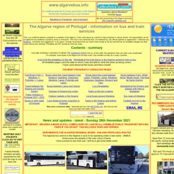 Algarvebus.info thumbnail