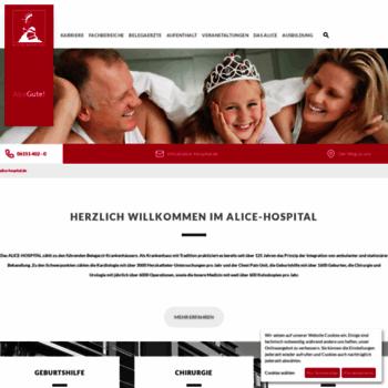 Alice-hospital.de thumbnail