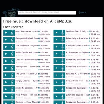 Alicemp3.ru thumbnail