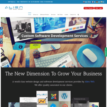 Alienweb.in thumbnail
