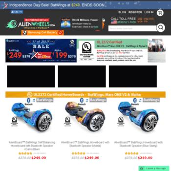 Alienwheelscom At Wi Hoverboard For Sale Alien Board Ul Certified