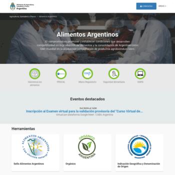 Alimentosargentinos.gob.ar thumbnail