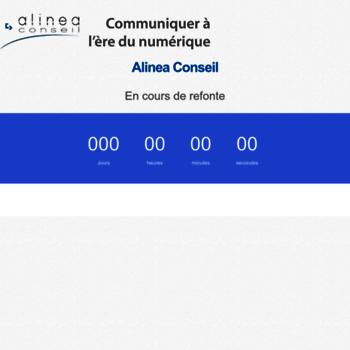 Alinea-conseil.fr thumbnail