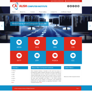 Alishcomputerinstitute.in thumbnail