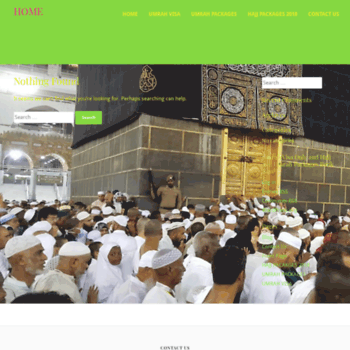alkhidmattour com at WI  Hajj Packages from USA 2019 /Umrah