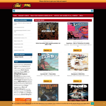 Allcomicbooks.us thumbnail