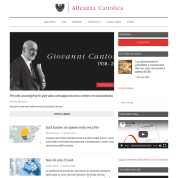 Alleanzacattolica.org thumbnail