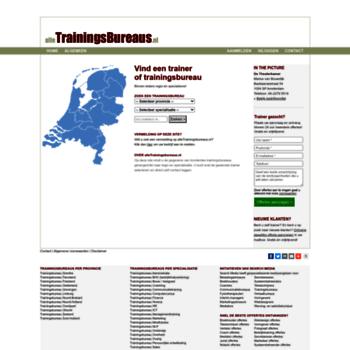 Alletrainingsbureaus.nl thumbnail