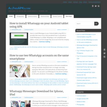 allfreeapks com at WI  AllFreeApks - Download Free Android APKs