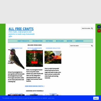 Allfreecrafts.com thumbnail