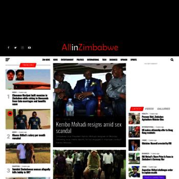 Allinzimbabwe.com thumbnail