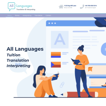 Alllanguages.co.uk thumbnail