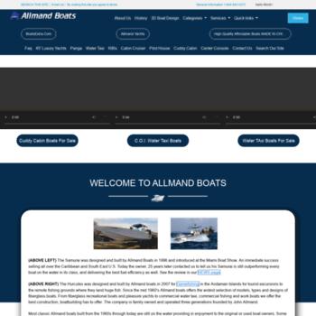 Allmandboats.com thumbnail