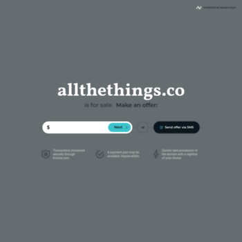 Allthethings.co thumbnail