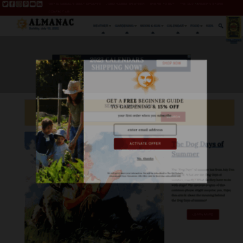 Almanac.com thumbnail