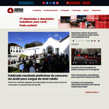 Almg.gov.br thumbnail