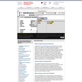 almyta com at WI  Almyta Systems