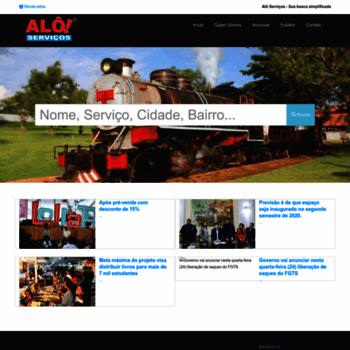 Aloservicos.com.br thumbnail