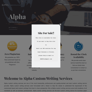 Alphacustomwritingservices.com thumbnail