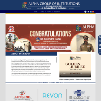 Alphagroup.edu thumbnail