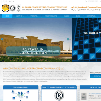 alsahelcon com at WI  Top Construction Companies in UAE, Building