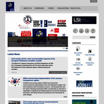 Alter-eu.org thumbnail