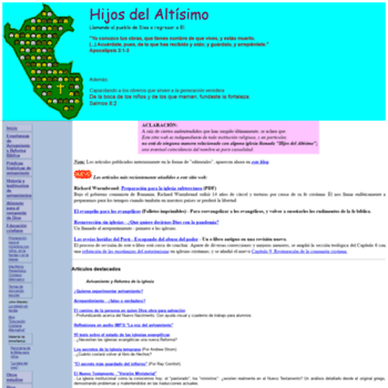Altisimo.net thumbnail