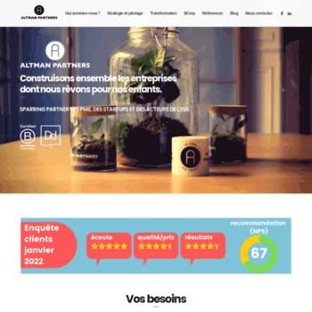 Altman-partners.fr thumbnail