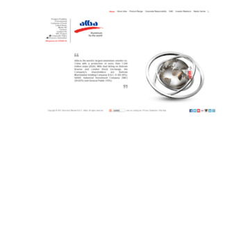 aluminiumbahrain com at WI  Aluminium Bahrain (Alba)