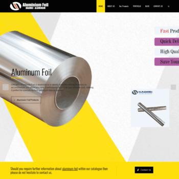 Aluminum-foil.net thumbnail