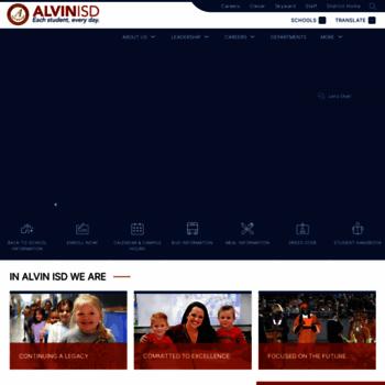 Alvinisd.net thumbnail